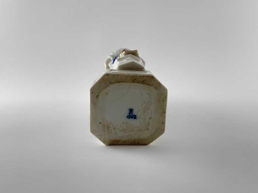 "Porcelain figurine ""Athena"". Germany, Rauenstein, perfect condition, handmade, 19th century - photo 5"