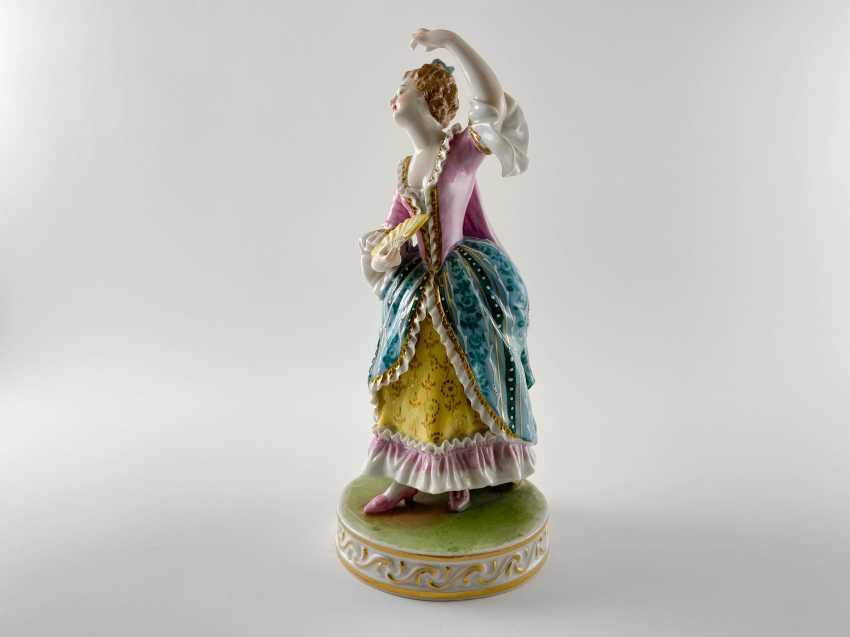 "Porcelain figurine ""Minuet"". Germany, Carl Thieme, perfect condition. - photo 2"