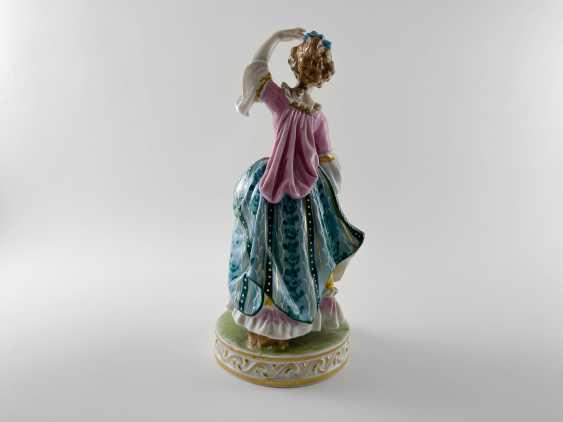 "Porcelain figurine ""Minuet"". Germany, Carl Thieme, perfect condition. - photo 3"