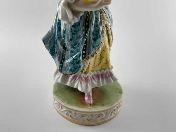 "Porcelain figurine ""Minuet"". Germany, Carl Thieme, perfect condition. - photo 4"