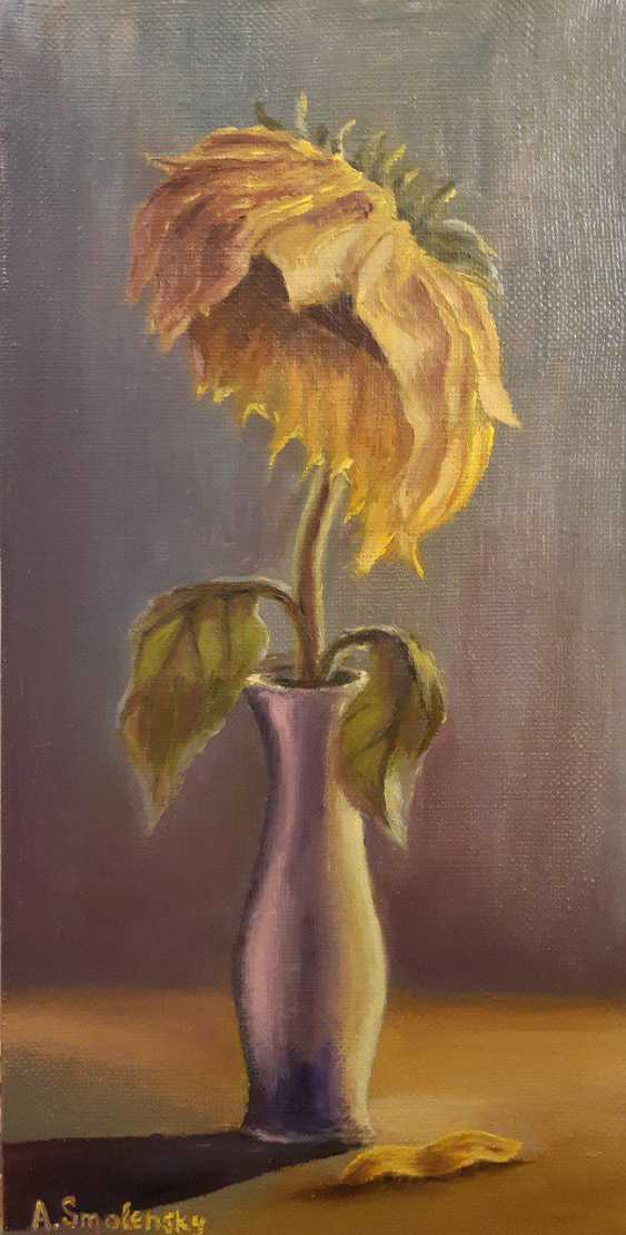 "Andrey Smolensky. ""Sad sunflower"" - photo 1"