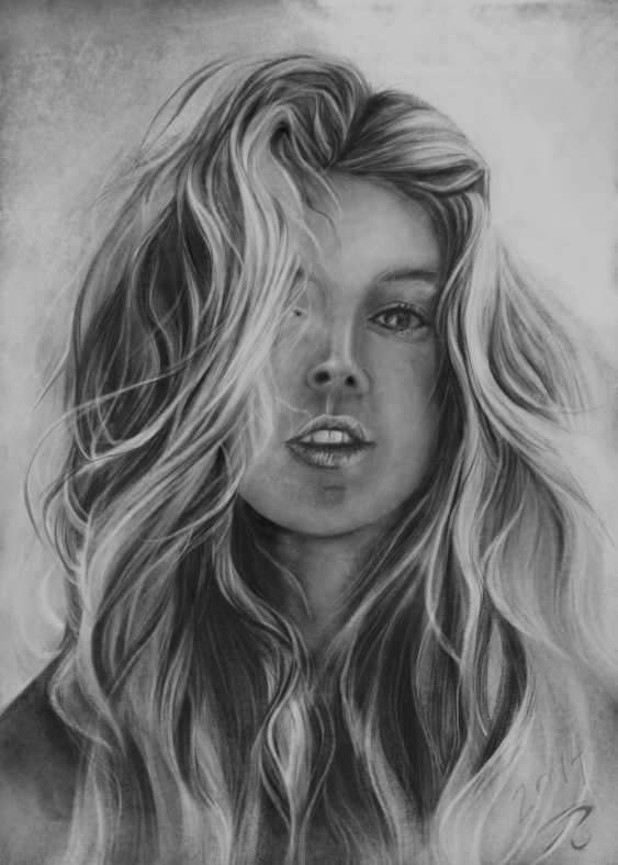 "Olga Doroshuk. Portrait of a girl ""Femininity"" - photo 1"