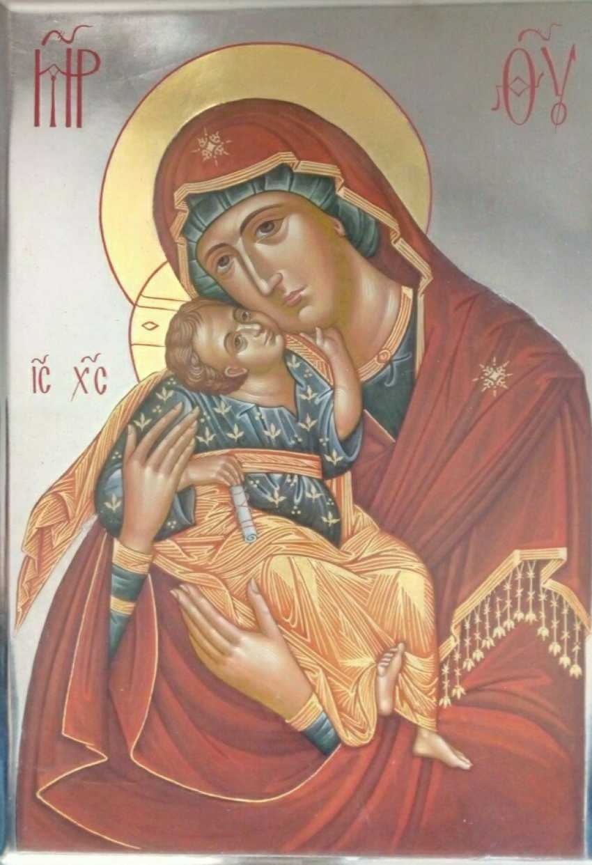 Natali Ruda. icon of the virgin - photo 1