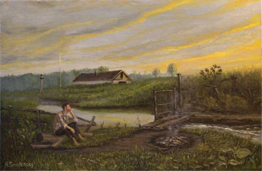 "Andrey Smolensky. ""Dawn, waiting"" - photo 1"