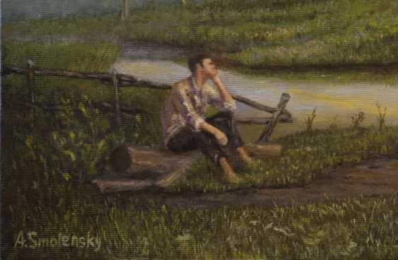"Andrey Smolensky. ""Dawn, waiting"" - photo 4"