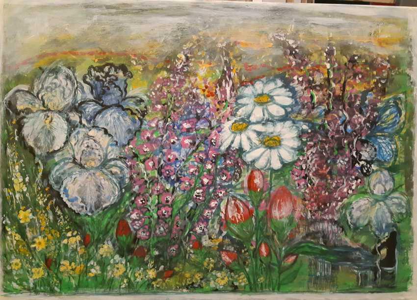 "Yulia Yulia. ,, Flower fields "",, - photo 1"