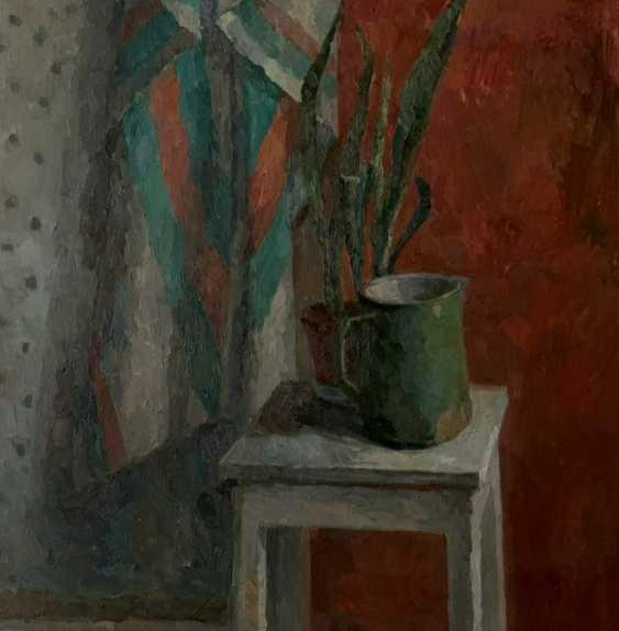 Mariyam Alibay. Green and red still-life. - photo 1