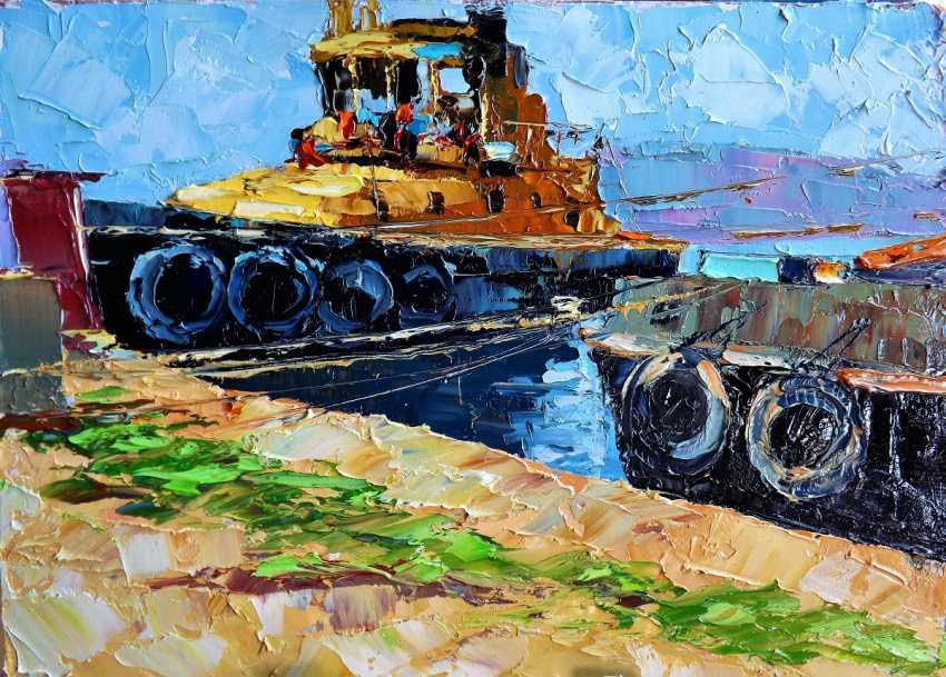 Sergey Efremov. Tugs - photo 1