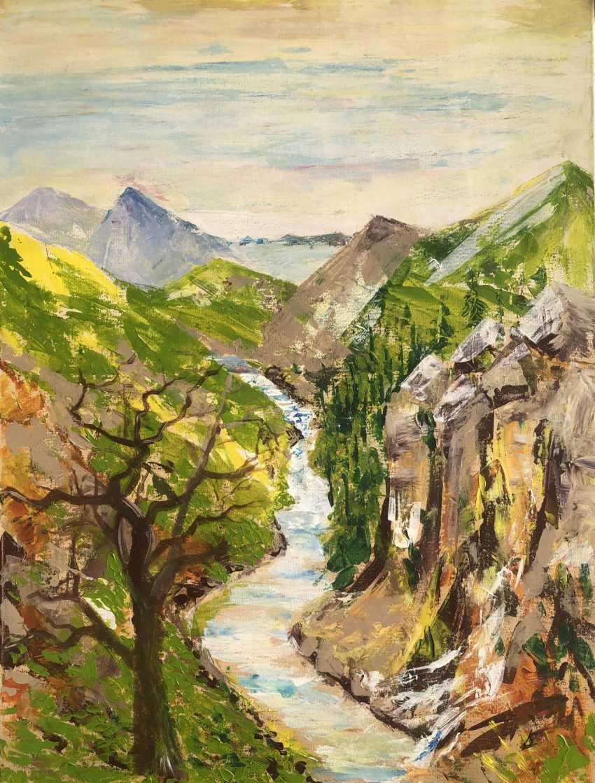Liza Serdechnikova. Mountain Creek - photo 1