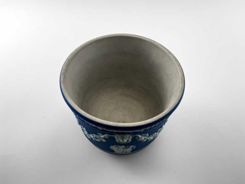 "Pots Wedgwood ""Ampelos"". Neo-classicism, England, biscuit porcelain, handmade. 1891 - 1908 - photo 6"