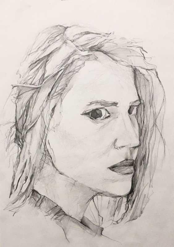 Lenara Nurtdinova. portrait of a girl - photo 1