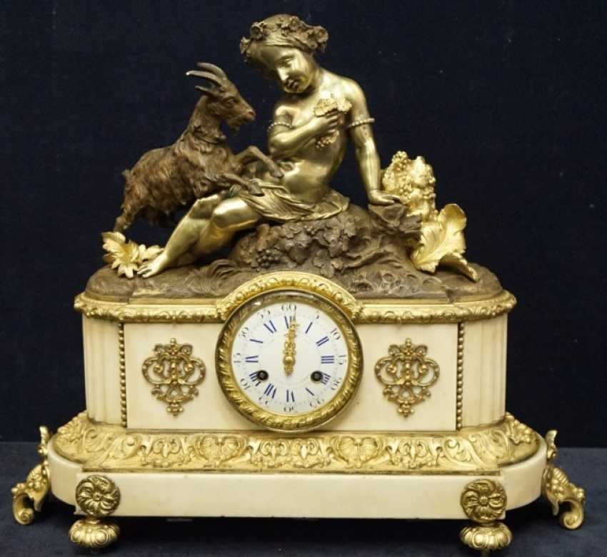 Baroque Clock, the end of the 18th century. - photo 1