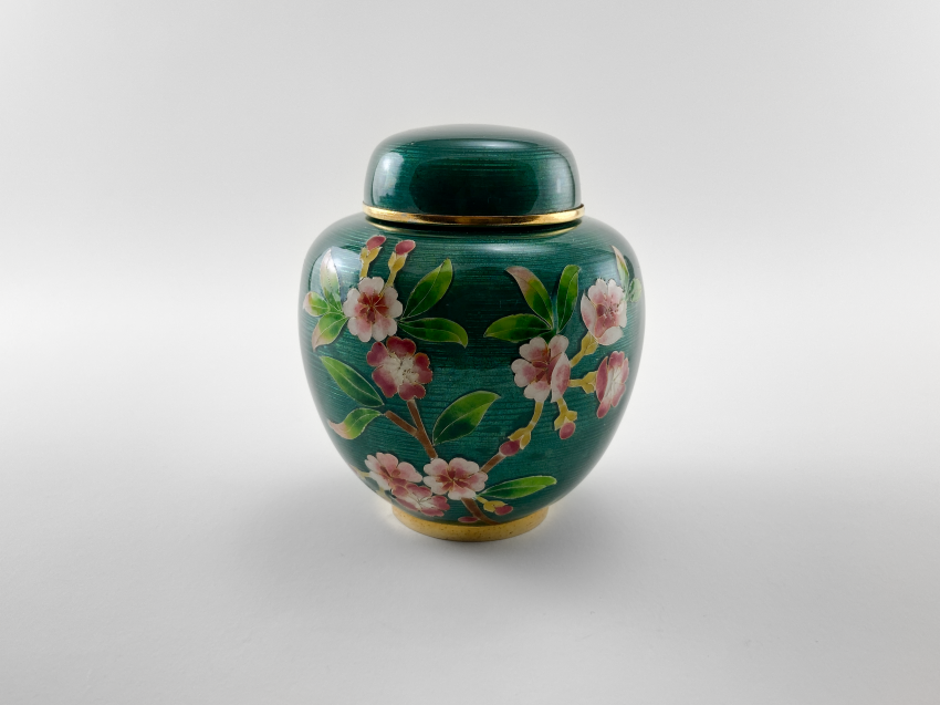 "Caddy ""Shotai Shippo"". Japan, enamel, handmade, rare, mixed media, 1920 - 1940. - photo 1"