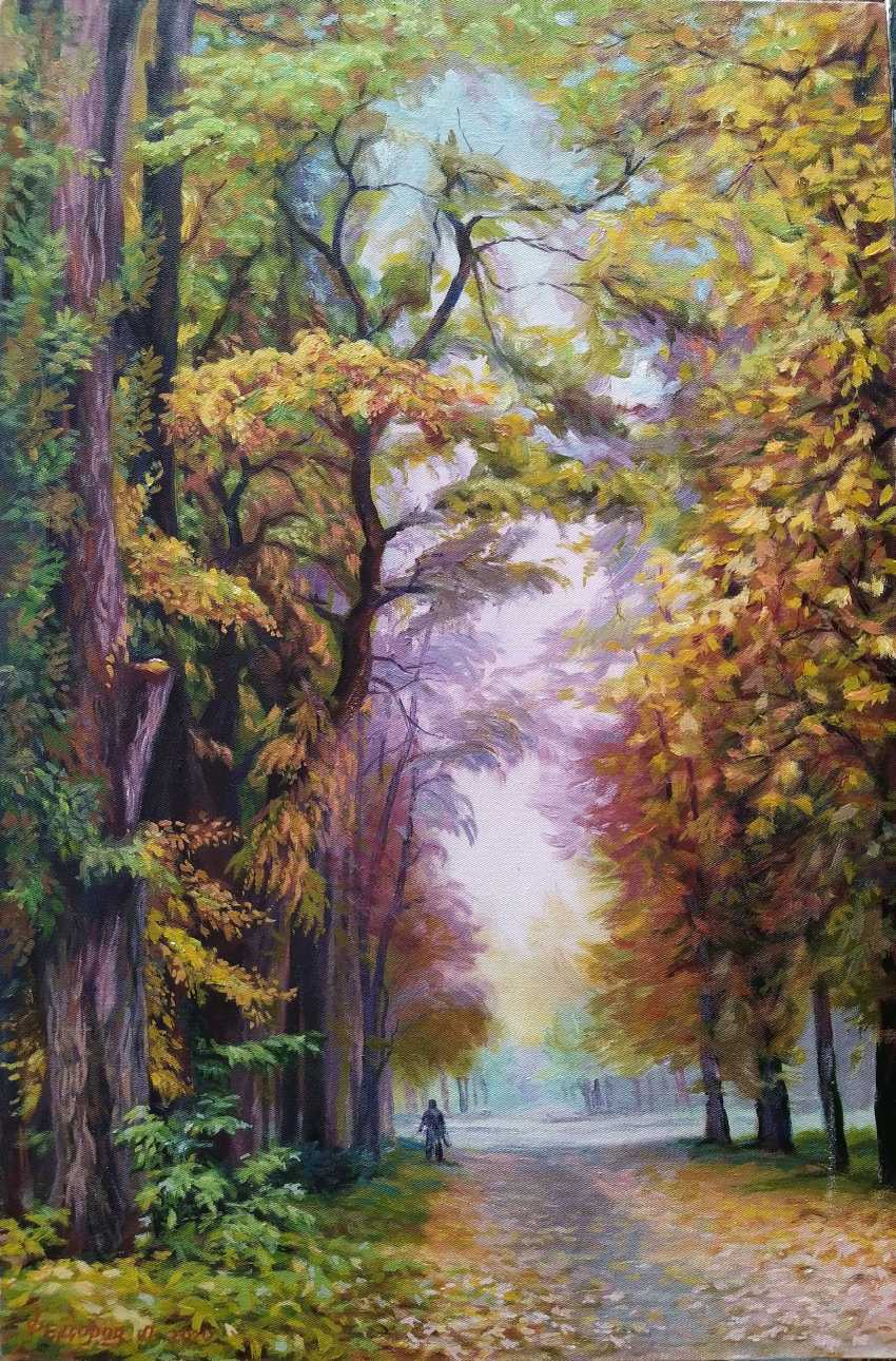 Leonid Fedorov. Autumn alley - photo 1