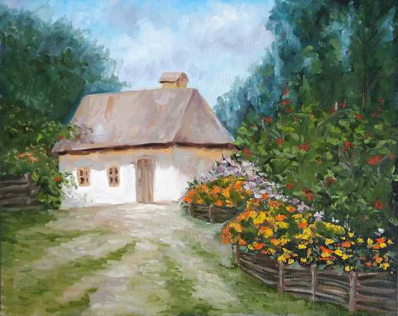 Irina Mezentseva. Haus im Dorf - Foto 1