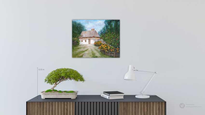 Irina Mezentseva. Haus im Dorf - Foto 2