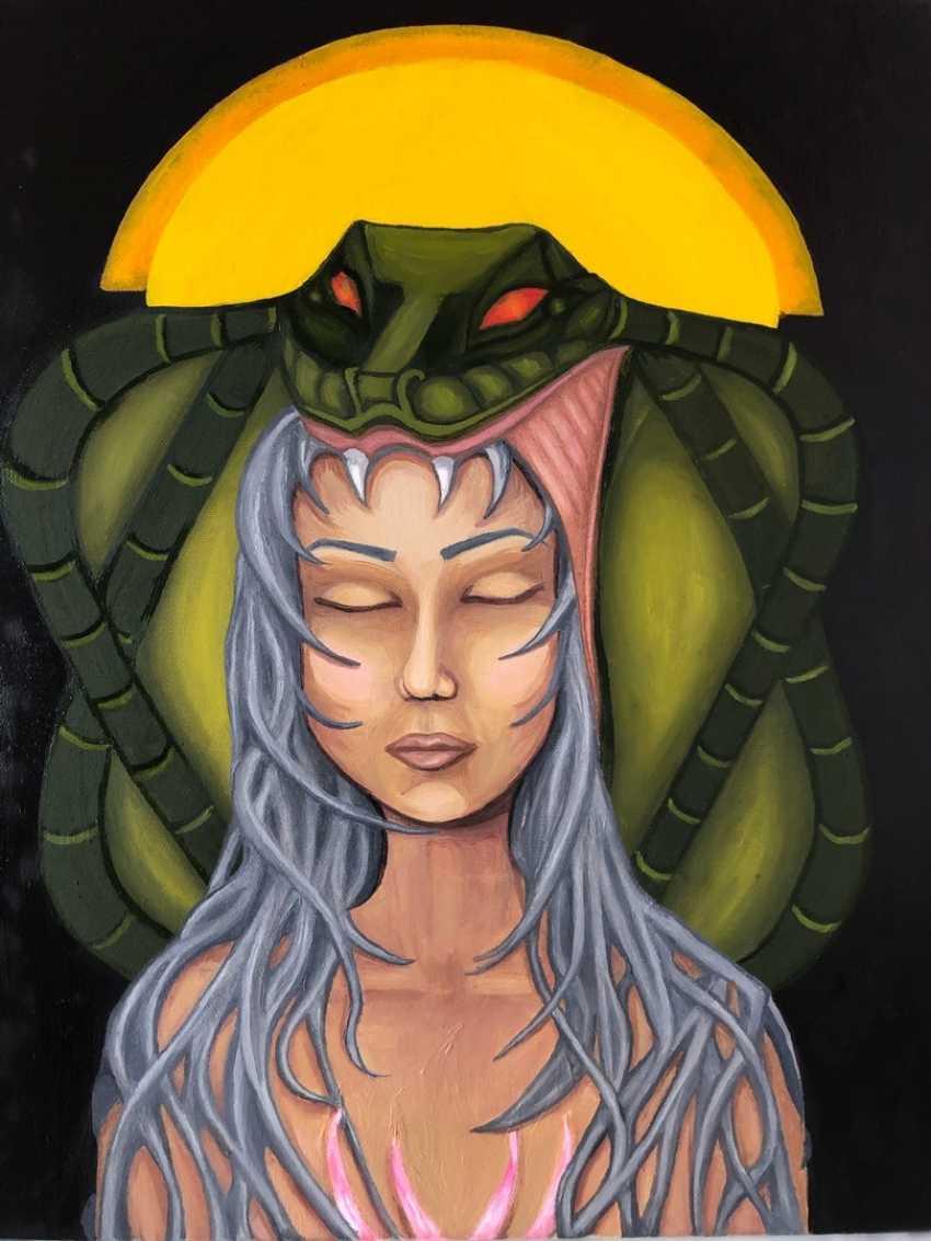 Anna Afonina. Snakegirl - photo 1