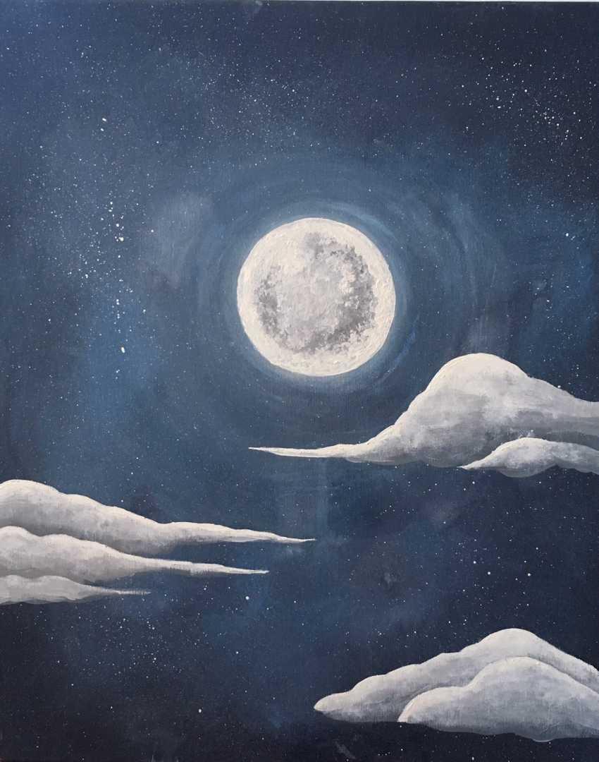 liuba furhala. Moonlit night - photo 1