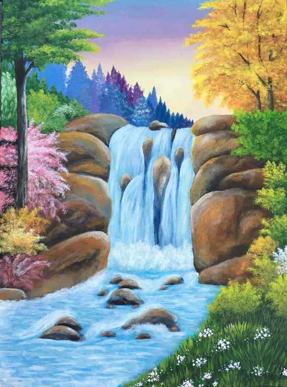 liuba furhala. Waterfall - photo 1