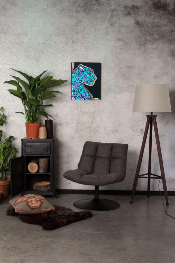 Evgeniya Kashina. Interior painting Leopard - photo 2