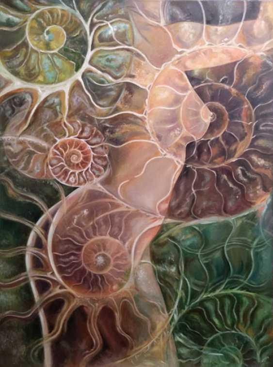 Natali Romanovskaya. Earth Ammonite - photo 1