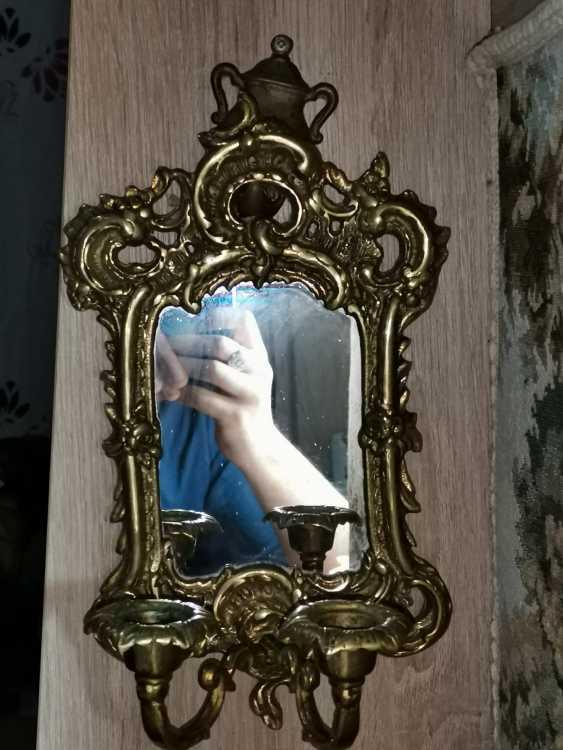Antique Bronze mirror, France, around 1900 - 1920 - photo 1