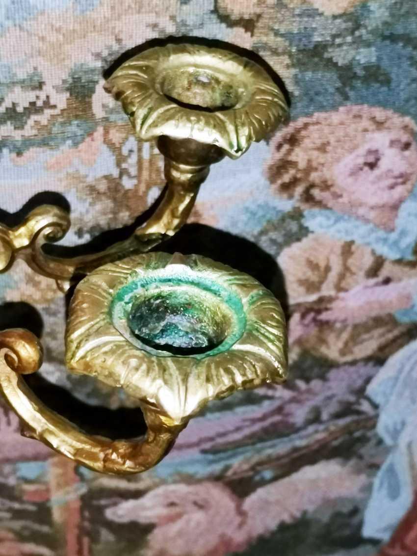 Antique Bronze mirror, France, around 1900 - 1920 - photo 5