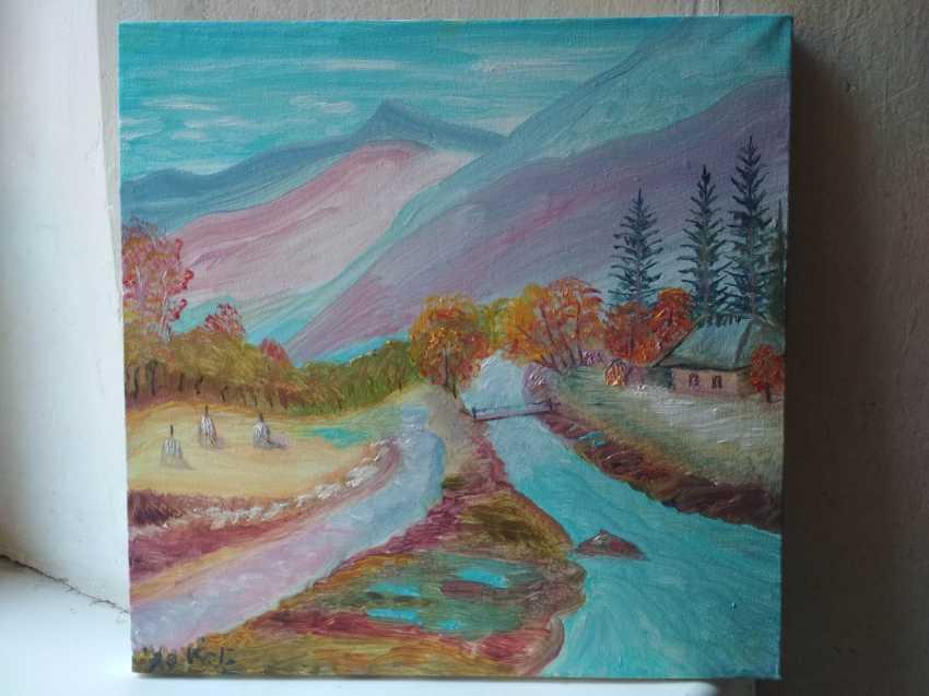 Elena Kozar-Gurina. Осень в Карпатах. Autumn In the Carpathian mountains. - photo 1