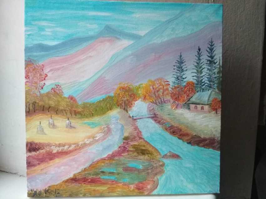 Elena Kozar-Gurina. Осень в Карпатах. Autumn In the Carpathian mountains. - photo 2