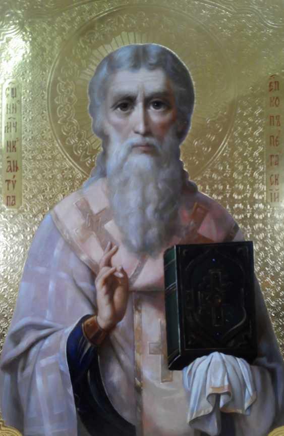 Lilia Kovalenko. Holy Hierarch St. Spyridon Trimifuntsky, St. Anthony Of The Caves - photo 1
