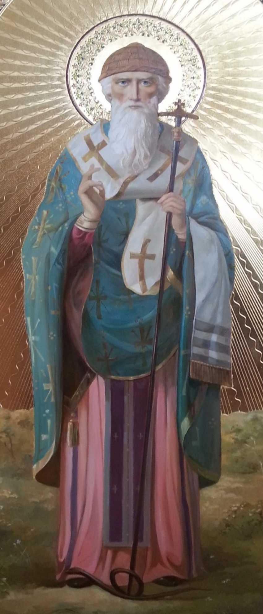 Lilia Kovalenko. Holy Hierarch St. Spyridon Trimifuntsky, St. Anthony Of The Caves - photo 2