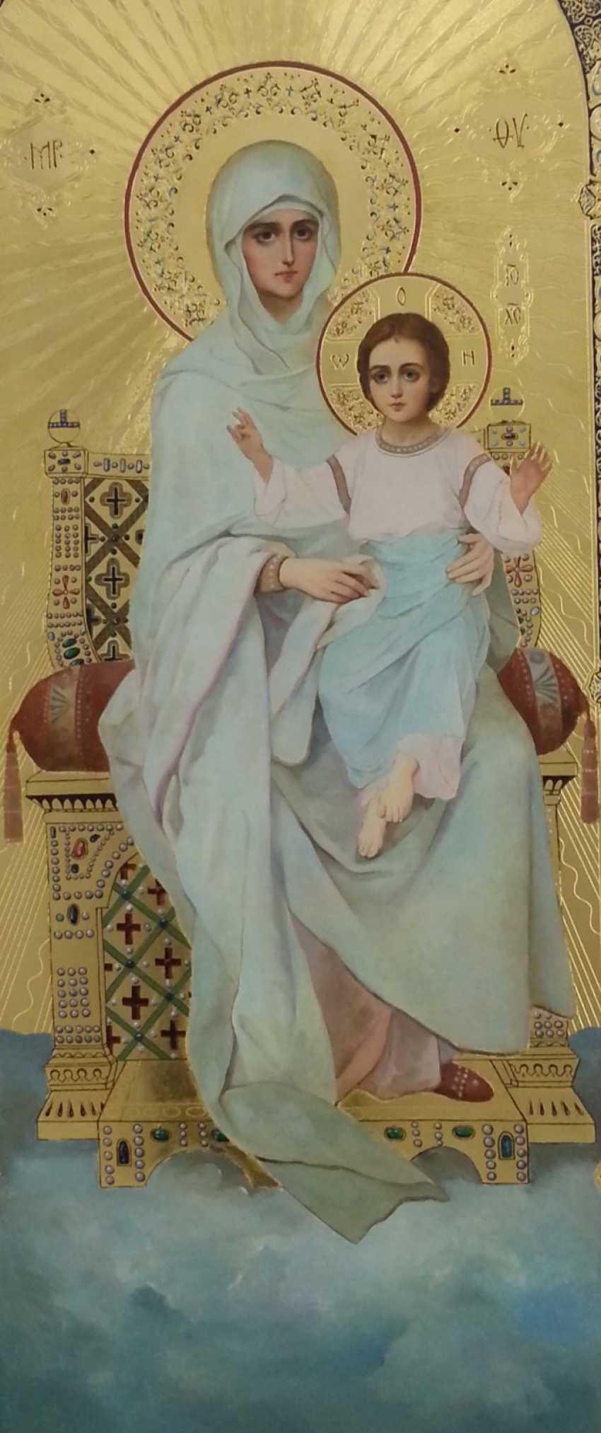 Lilia Kovalenko. Der Heilige Paramon, Gottesmutter Maria, Jesus Christus, Der Heilige Georg Im Kampf Mit Dem Drachen - Foto 2