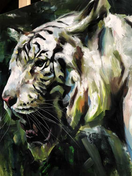 Katya M. Albino Tiger - photo 1