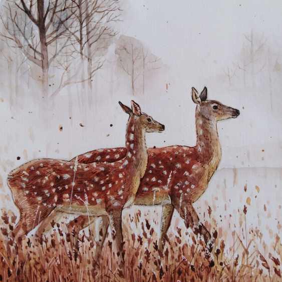 Maria Klimova. Spotted deer - photo 1