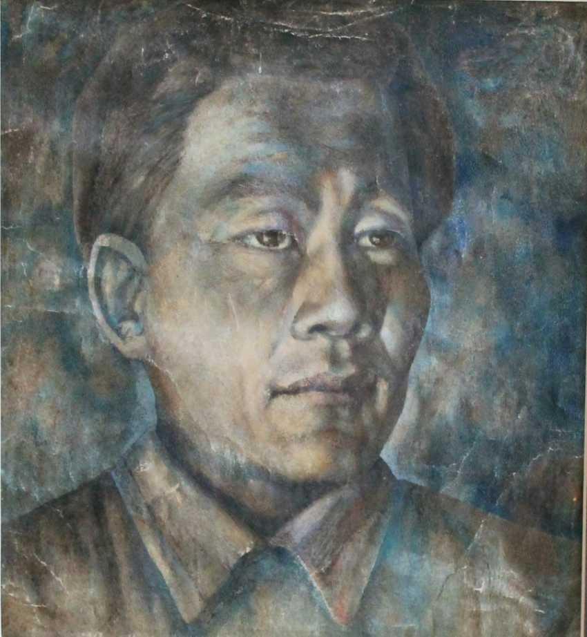 Portrait Of Buryatia P. Salzman - photo 1