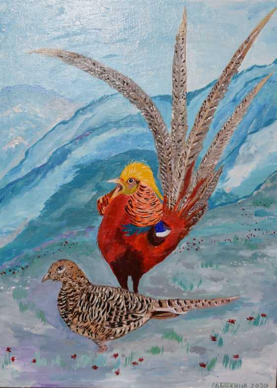 Ludmila Vasilevna Blohina. Singing Golden pheasant - photo 1