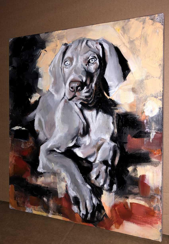 Katya M. Silver puppy - photo 1
