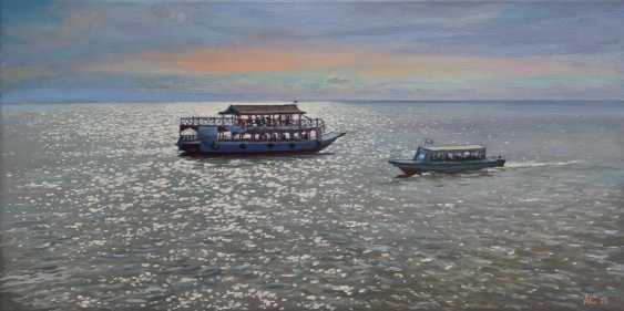 "Alexander Samokhvalov. ""Sur le lac Tonle sap"" - photo 1"