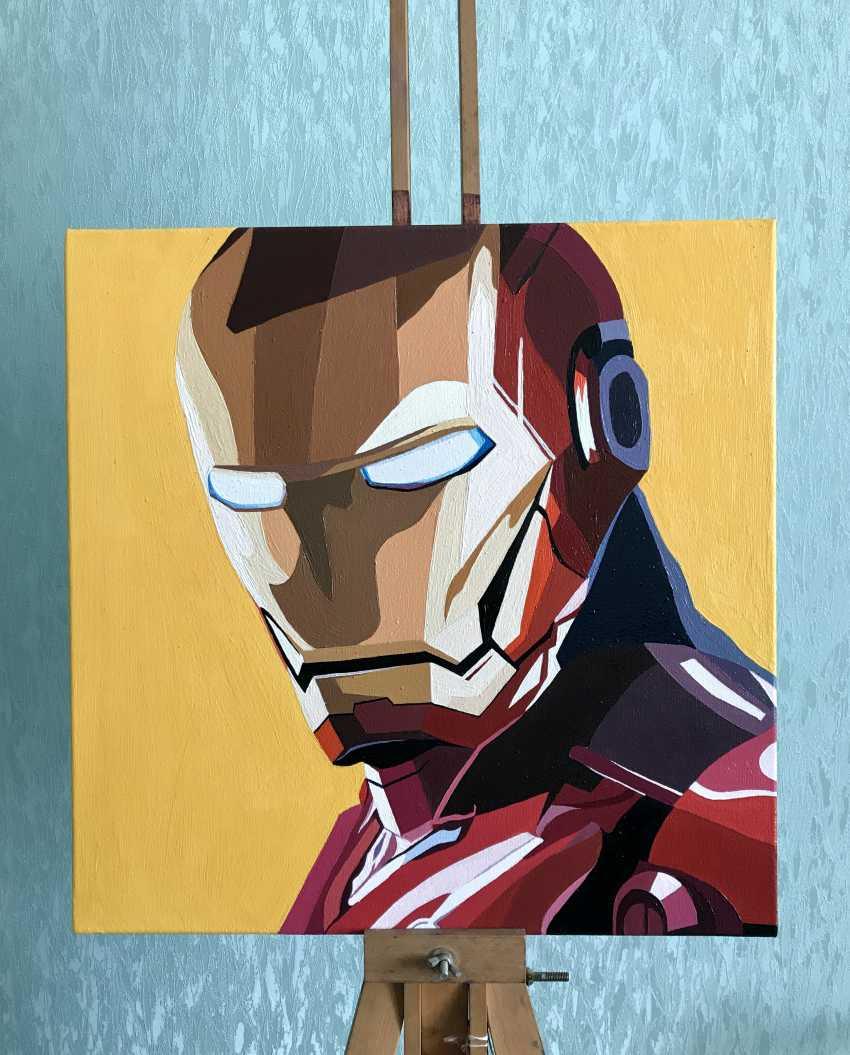 Kateryna Kapitan. Iron Man - photo 1