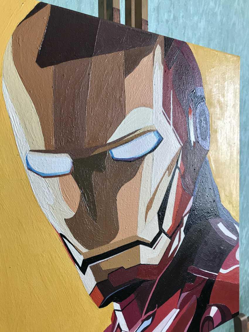 Kateryna Kapitan. Iron Man - photo 3