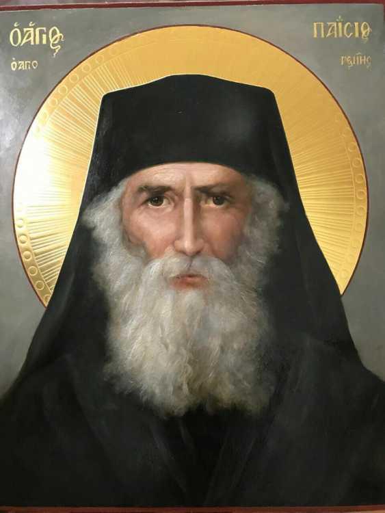Lilia Kovalenko. Saints Andrew, Paisios Of The Holy Mountain, Theodosius Of The Caves, Righteous Noah - photo 2