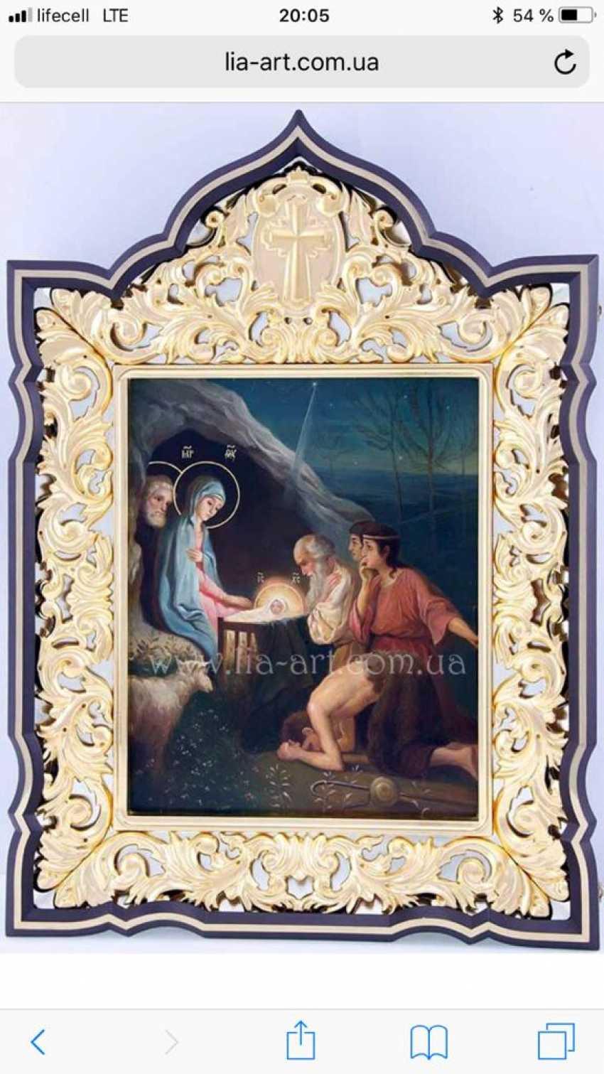 Lilia Kovalenko. Saints Boris and Gleb, the last supper, the Transfiguration, the Nativity - photo 4