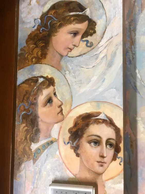 Lilia Kovalenko. Crucifixion, Fresco - photo 2