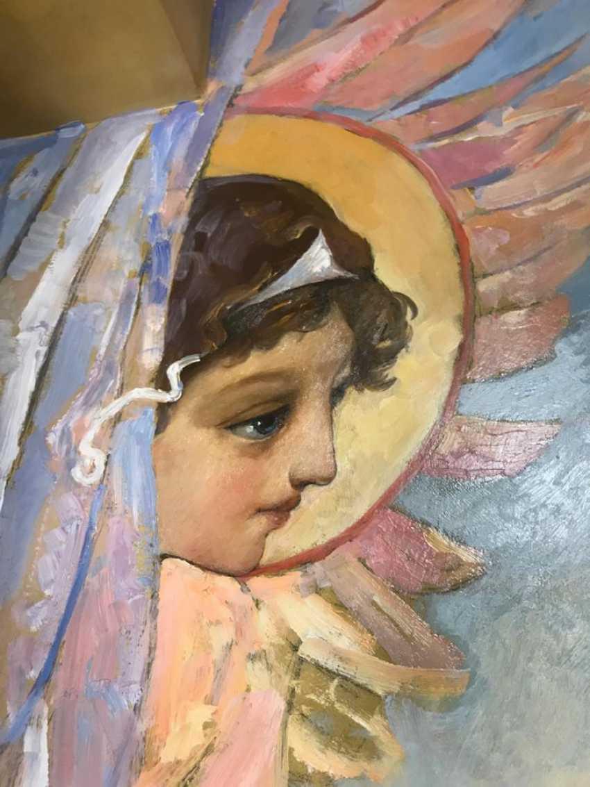 Lilia Kovalenko. Crucifixion, Fresco - photo 3