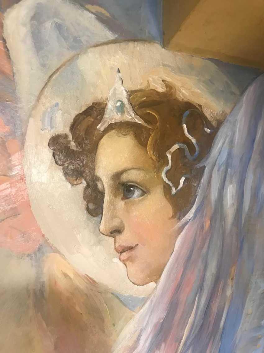 Lilia Kovalenko. Crucifixion, Fresco - photo 4