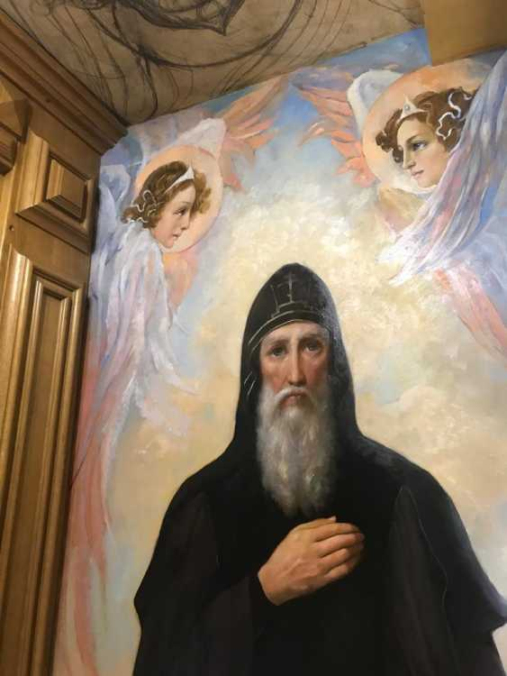 Lilia Kovalenko. Murals, Angels - photo 2