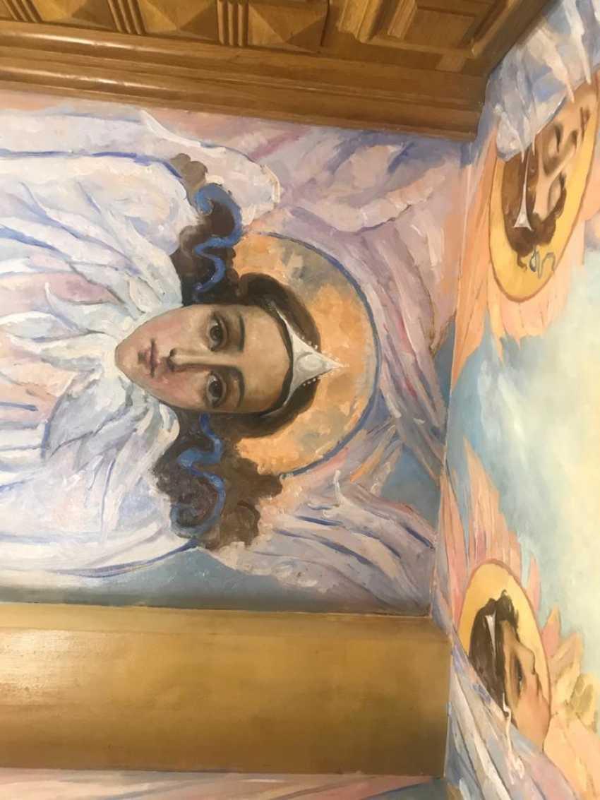Lilia Kovalenko. The Mural, The Angels - photo 1