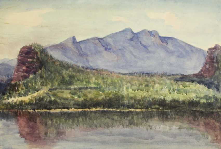 A. Ismailov. Oz. Upland - photo 1