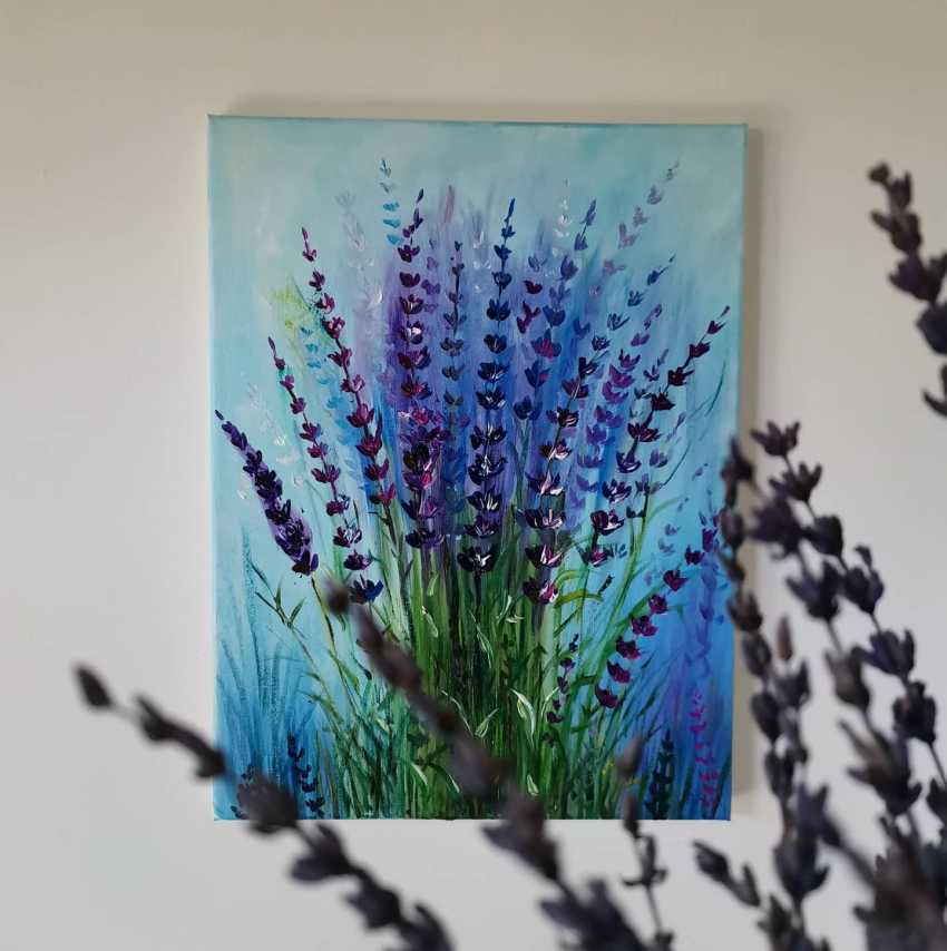 "Anna Voynova. ""Lavender in the garden"" - photo 2"