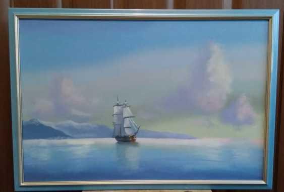 Lilita Salimova. Ship off the coast - photo 1